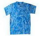 Custom Crystal Blue Tye Dye T-shirt
