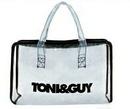 Custom Clear Salon Zipper Tote Bag, 11