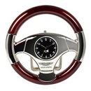 Custom Steering Wheel Clock, 3 7/8