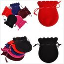Custom Solid Color Fabric Pouches Many Colors Available, 5