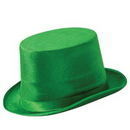 Custom Green Vel Felt Top Hat