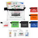 Custom Stay Safe Insect Repellent Kit In Zipper Pouch, 5