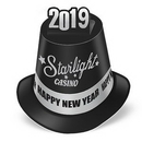 Complete Custom All Paper New Year Pop-Up Hi-Hat