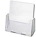 Custom Slant Back Brochure Holders - Large (Fits 8-1/2