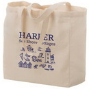Custom 6 oz. Cotton Canvas Tote Bag