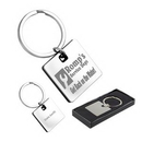Custom Cube Metal Key Holder, 2 3/4