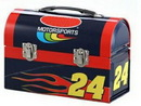 Custom Black Domed Lunch Box (Full Body Print)