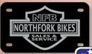 Custom Motorcycle License Plates-.055