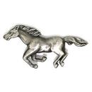 Custom Animal Pin - Antique Silver Horse, 5/8