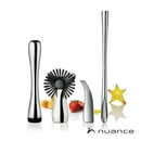 Custom Nuance® 4pc Bar Acessory Set - Stainless