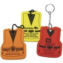 Custom Foam Floating Key Tag - Life Vest