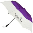 Custom Emperor CAP Vented Folding Golf Umbrella, 22