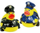 Custom Rubber Heroic Police Duck, 3