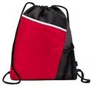 Custom Spots Drawstring Closure Backpack, 13.78