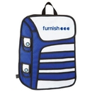 Custom WGG! The Cartoon Backpack - Blue