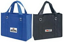 Custom Non-Woven All Purpose Tote Bag with Fabric Covered Bottom