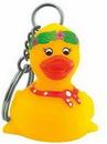 Custom Rubber Friendly Duck Key Chain