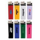 Custom Solid Colored Standard Flint Cigarette Lighter, 3.125