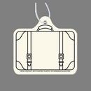 Custom Suitcase Fob Paper A/F
