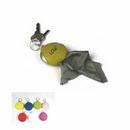 Custom Soft PVC Pocket Glasses Cleaner Key Chain, 2 1/4