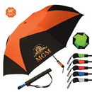 Custom The Vented Pinwheel Umbrella, 58
