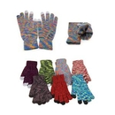 Custom Adult Camo Acrylic Knitted Gloves (Mixed Color), 8.7