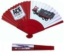 Custom Foldable Paper Fan, 8.25