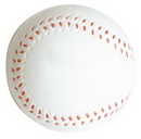 Custom Slow Return Foam Baseball Squeezies Stress Reliever, 2.5