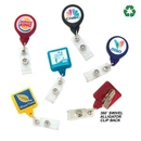 Custom Best Round Retractable Badge Reel w/ Alligator Clip (Label Only)