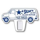 Custom Van Magnet with Clip (2-1/2