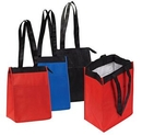 Custom Insulated Lunch Tote with Zipper Closure, 10.5