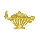 Custom Chenille Pin Lamp Of Knowledge