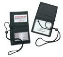 Custom Bi-Fold Neck Wallet w/ Badge Holder
