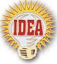 Custom Bright Idea Light Bulb Stock Pin