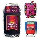 Custom Neoprene Can Cooler With Pocket, 4