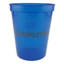Custom 16 Oz. Smooth Colored Translucent Stadium Cups