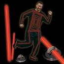 Blank Red Glow Costume Kit