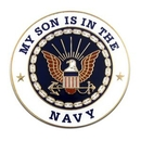 Custom Military - U.S. Navy Son Lapel Pin, 1