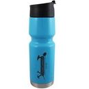 Custom 20 Oz. Stainless Bottle Vacuum Insulated Passivated Cross Trainer Bottle Lt Blue
