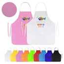 Custom Non-Woven Apron with Simple Front Pocket, 19.7