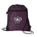 Vitronic Mesh Pocket 210D Nylon Drawcord Bag, 14