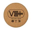 Custom Cork'n Velvet Coaster