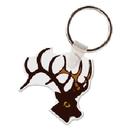 Deer Head Animal Key Tag