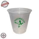 Custom 12 Oz. Soft Sided Clear Cups