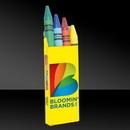 Custom 4 Pack of Crayons