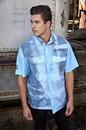Custom Short Sleeve Woven Fishing Shirt