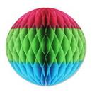 Custom Tri-Color Tissue Ball, 12