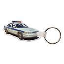 Custom Police Car 2 Key Tag