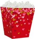 Blank Confetti Hearts Sweet Treat Box, 4