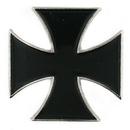 Blank Black Iron Cross Lapel Pin, 1